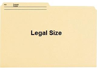 Best Value Legal File Folders