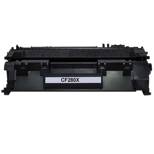 Brand new compatible DPCCF280X black toner not remanufactured or refilled. Page Yield: 6,900 pages