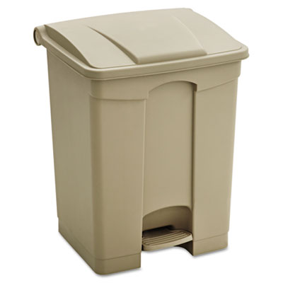 SAFCO Plastic Step on Receptacle
