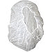 """Safety Zone White Bouffant Caps - 21"""" (533.40 mm) Stretched Diameter - Polypropylene - White"""