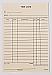 """6"""" x 4"""" Sheet Size - 100 / Pack (Manilla)"""