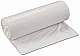 Regular strength white garbage bags ideal for use in kitchens and offices. 500 bags/box. (Size: 20 x 22)
