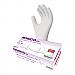 RONCO VE2 Vinyl Powder Free Exam Gloves - Medium Size - Vinyl, Polyvinyl Chloride (PVC) - Clear - Powder-free, Latex-free, Comfortable, Durable, Ambidextrous, Beaded Cuff - For Healthcare Working, Food, General Purpose, Cosmetology, Laboratory Application