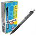 Paper Mate Inkjoy 300 RT Ballpoint Pens - 1 mm Pen Point Size - Retractable - Black - Black Barrel - 12 / Dozen