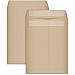 """Business Source Kraft Gummed Catalog Envelopes - Catalog - #13 1/2 - 10"""" Width x 13"""" Length - 28 lb - Gummed - Kraft - Kraft"""