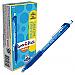 Paper Mate Inkjoy 300 RT Ballpoint Pens - 1 mm Pen Point Size - Retractable - Blue - Blue Barrel - 12 / Dozen