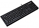 Kensington Keyboard for Life - Cable Connectivity - USB Interface - 104 Key - English, French - Computer - Membrane Keyswitch - Black
