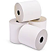 """ICONEX Cash Register Roll - 3"""" x 100 ft - Clear - 50 / Box - White/Canary"""