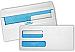 "Double Window Security #9 24lb self sealing envelope (8 7/8"" Width x 3 7/8"" Length) 500 / Box - White"