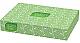 Surpass Flat Box Facial Tissue - 2 Ply - Yellow - Soft, Strong