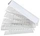 """Plastic Clear Tabs - Blank Tab(s)3.50"""" Tab Width - Clear Plastic Tab(s) - 25 / Pack"""