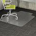 "Deflecto DurMat for Carpet - Carpeted Floor - 53"" (1346.20 mm) Length x 45"" (1143 mm) Width - Lip Size 12"" (304.80 mm) Length x 25"" (635 mm) Width - Vinyl - Clear"
