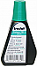 Gem Office Products Stamp Pad Ink Refill - 1 Each - Green Ink - 29.57 mL