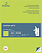 """Domtar Laser Print Copy Paper - Letter - 8 1/2"""" x 11"""" - 24 lb Basis Weight - 500 / Pack - Lime Green"""