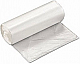 Regular strength clear garbage bags ideal for use in kitchens and offices. 500 bags/box. (Size: 22 x 24)