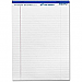 """Hilroy Micro Perforated Business Pads - 50 Sheets - 0.31"""" Ruled - 8 1/2"""" x 11 3/4"""" - White Paper - Micro Perforated - Pack of 10"""
